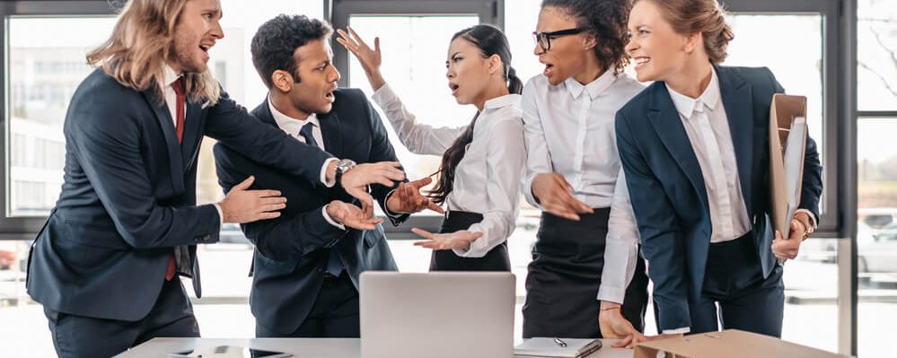 7 Reasons Anger and Conflict still exist within in the Workplace